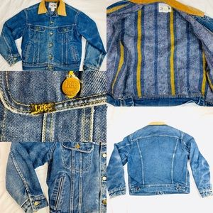 Vintage 70's Lee Storm Rider Mens 42r Jean Jacket